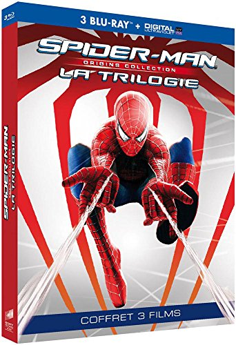 Spider-Man Origins Trilogie 3 Films [Blu-Ray] [Collection Origines - Blu-ray + Copie digitale] 1